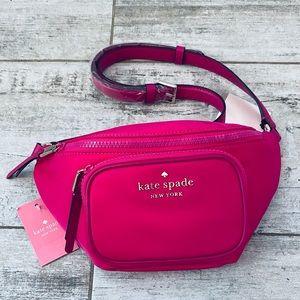 Kate Spade BRIGHT MAGENTA nylon belt bag